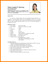 resume for teachers in the philippines writing a teacher resume