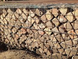 28 best rocking fences images on pinterest gabion wall walls