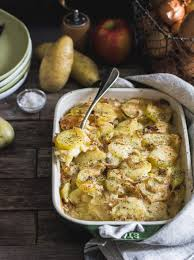 cuisine tartiflette recette gratin de pommes de terre pomme et munster