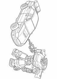 transformers 4 coloring pages bumblebee eliolera