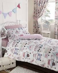 girls childrens quilt duvet cover u0026 pillowcase bedding sets or