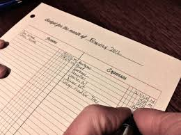 Dave Ramsey Budget Excel Spreadsheet by Monthly Personal Budget Ledger Sheet For The Suze Orman Dave