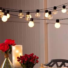 Clear Patio String Lights Outdoor Patio String Lights 20 Led G45 Globe Clear Warm White