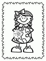 love the earth earth day coloring page for kids coloring pages