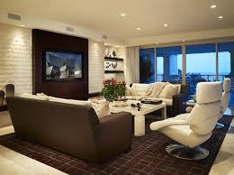 Interior Design Tv Wall Mounting by Ideas Of Wall Mounted Tv In Living Room Interior Design