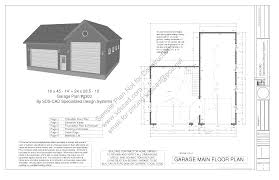 20 x 24 garage plans best solutions of g448 24 x 20 x 8 garage plans blueprints page 3