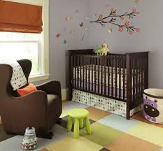 dressing up your baby u0027s nursery with retro modern style