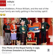 royal family wears sweaters wins the holidays