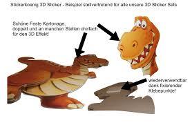 stickerkoenig wandtattoo 3d sticker wandsticker kinderzimmer