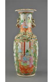 canton porcelain 19th canton famille porcelain vase