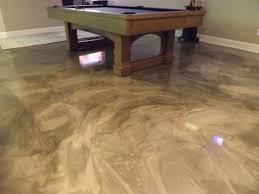 impressive design ideas metallic epoxy basement floor flooring