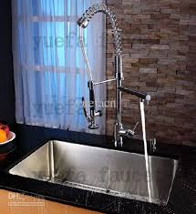 2018 single chrome pull kitchen faucet with kitchen
