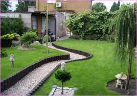 Simple Garden Landscaping Ideas Garden Design Narrow Backyard Ideas Small Designs Garden
