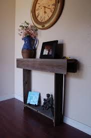 Small Table For Entryway Wood Console Table 27x6x30 Farmhouse Decor Entryway Table