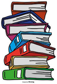vector pile color cartoon style books download free vector