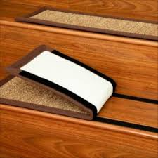 Stick On Laminate Wood Flooring 15 Inspirations Peel And Stick Carpet Stair Treads Stair Tread