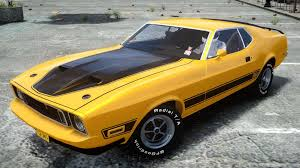 Mustang Mach One Gta Iv 1973 Ford Mustang Mach 1 Crash Testing Youtube