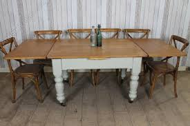 Victorian Pine Extending Kitchen Dining Table Antiques Atlas - Victorian pine kitchen table