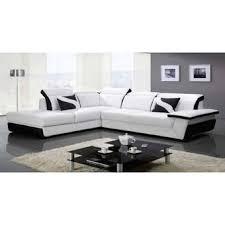 canapé d angle convertible cuir blanc convertible simili cuir top lilou canap duangle convertible u