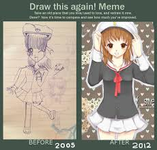 Draw It Again Meme - draw this again meme by amimochi on deviantart