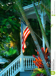 Key West Flag Key West Porch Stock Photo Image Of Intricate Facade 1575866