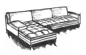 comment dessiner un canapé canapés duvivier croquis adonis image que j aime