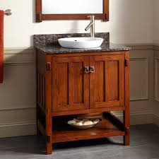 Orange Bathroom Sink 30