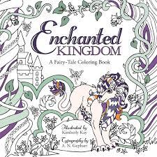amazon com enchanted kingdom a fairy tale coloring book