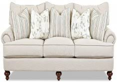 canapé shabby chic chic sofas vintage pink white oval canape in louis xv style