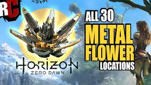 metal flowers horizon zero all metal flower collectible locations all