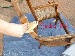 diy tutorial cane back chair in 10 steps arts and classy