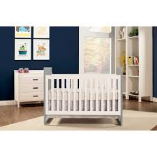 Walmart Convertible Cribs by Baby Mod Modena Mod Two Tone 2 In 1 Convertible Crib Gray And