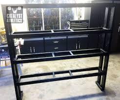 Ball Organizer Garage - medicine ball rack building tutorial by greg everett equipment