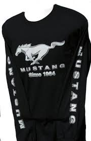 mustang shirts and jackets ford mustang sleeve shirt in black the mustang trailer