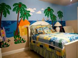 kids themed bedrooms bedroom a dazzling beach themed bedrooms for kids with wall