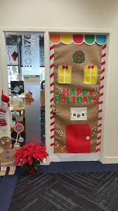 Holiday Door Decorating Articles With Office Christmas Decorating Ideas Themes Tag