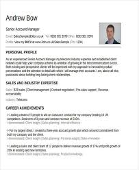 Account Manager Resume Sample by 42 Manager Resume Templates Free U0026 Premium Templates