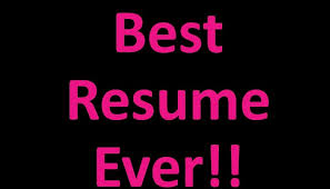 The Best Resumes Ever by The Best Resume I Have Ever Seen Alison Tringale Pulse Linkedin
