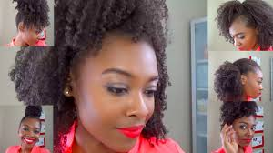 six easy hairstyles on an old wash go for natural hair heels