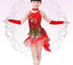 kids samba dress for kids 110 160cm fringe dress