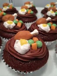 turkey protesting thanksgiving cupcake thanksgiving cupcake