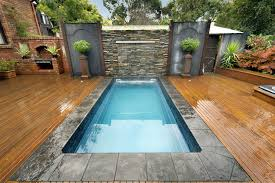 Mini Pools For Small Backyards by Swimming Pool Backyard Small Pools Design With Artificial
