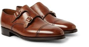 light brown monk strap shoes john lobb phillip ii leather monk strap shoes where to buy how