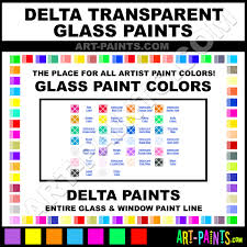 delta transparent glass and window paint colors stained glass