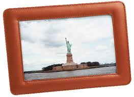leather picture frames leather frame leather picture frames
