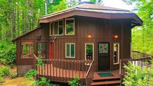 Home Design 900 Sq Feet by 900 Sq Ft Round Cabin On 1 25 Acres In Tahuya Tiny House