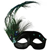 peacock masquerade mask black mask with peacock feather masquerade express