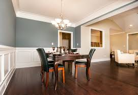 nice dining room decor showcasing black espresso wooden oval table
