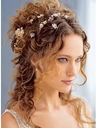 curled hairstyles medium length hair wedding hairstyle for curly hair medium wedding curly hairstyles