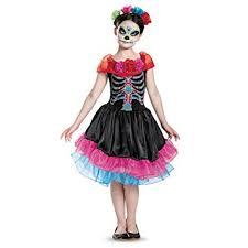 day of the dead costumes day of the dead costume small 4 6x toys